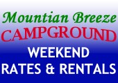 WEEKEND RATES & RENTALS